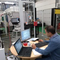 Ubisense Smart Factory installation for the Automotive Use Case
